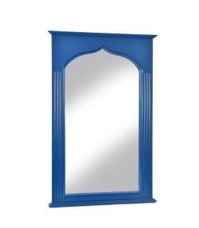 Miroir ottoman Sophia présenté ici en bleu Arty