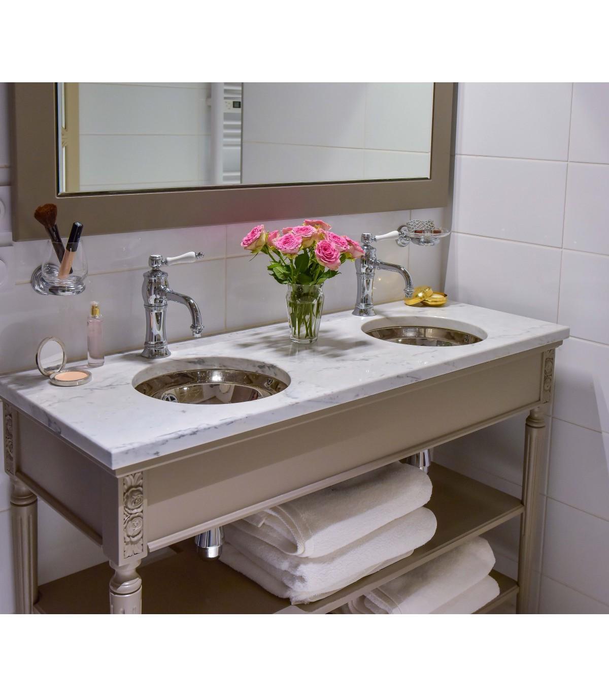 Meuble salle de bain double vasque : Boutique Montespan, meuble sous ...