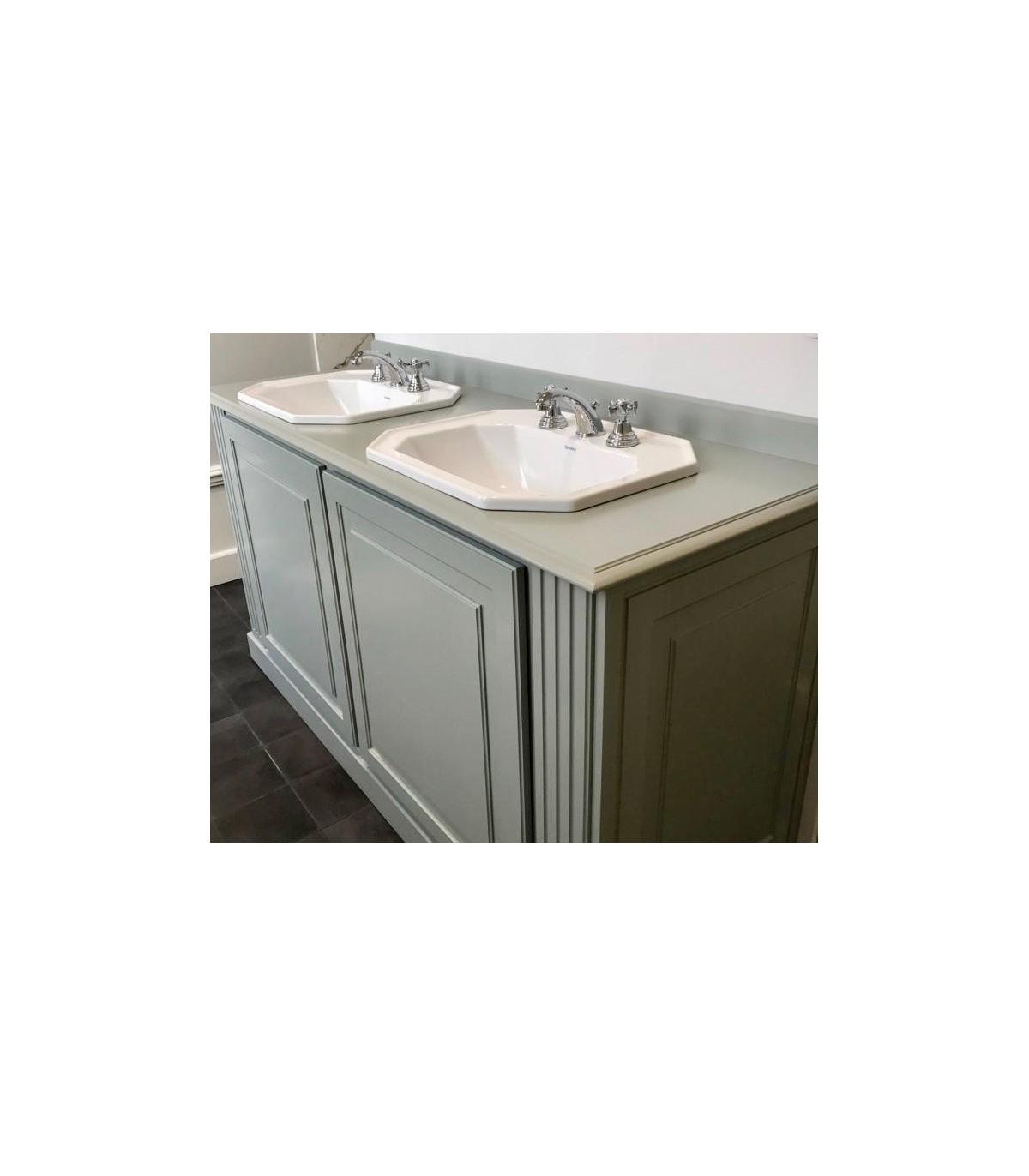 Meuble salle de bain Art Déco : Boutique Montespan, meuble double ...