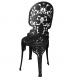 chaise industrielle Seletti noire