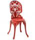 chaise industrielle Seletti Rouge